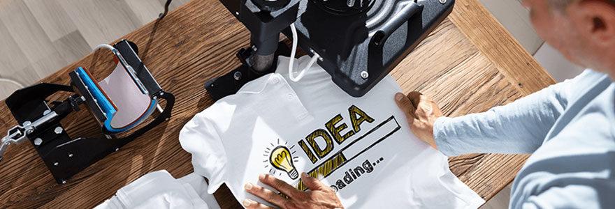 T-shirts publicitaires