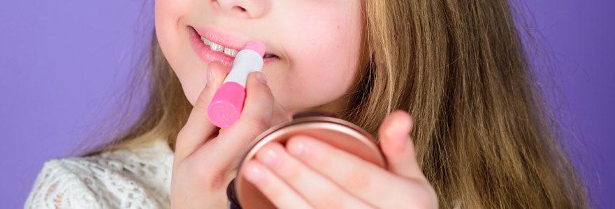 stick à lèvres enfant