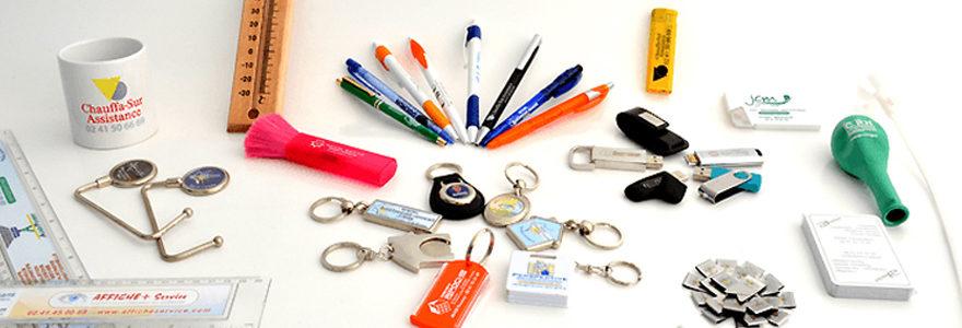 objets personnalisés