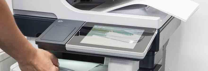 matériel de photocopie et d'impression